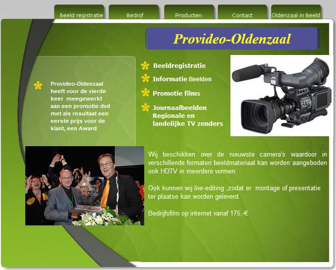 Provideo site 1